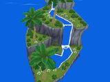 Rhombus-Insel