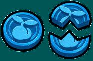 Artwork Piedras Suerte azul TMC