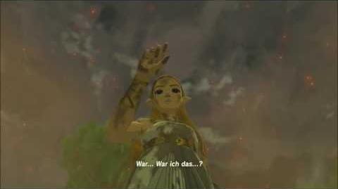 The Legend of Zelda Breath of the Wild - Zelda erwacht Erinnerung Cutscene (Nr