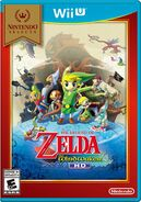 Jaquette Américaine Nintendo Selects TWWHD
