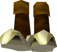 Ocarina of Time Boots Hover Boots (Render)