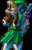 Link Ocarina Artwork 2 OOT