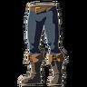 Breath of the Wild amiibo Rune Items (Fierce Deity Equipment) Fierce Deity Boots (Icon)
