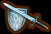 Hyrule Warriors Hylian Sword (Level 2) White Sword