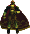 Ganondorf as he appears in-game