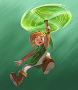 Link Artwork 3 (A Link Between Worlds)