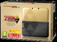3DS XL Zelda Edition PAL Box