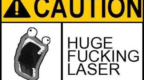This is SPARTA!! hilarious laser remix