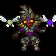 Hyrule Warriors Legends Skull Kid Standard Outfit (Grand Travels - OoT & MM Big Poe Recolor)