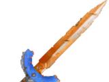 Gehärtetes Schwert