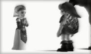 Zelda con Link en MM 3D