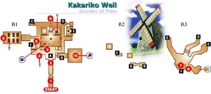 map of the Bottom of the Well