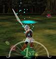 Fiera Deidad rayo espada MM