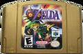 The Legend of Zelda - Majora's Mask Gold Cartridge