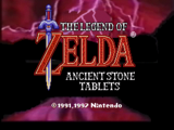 BS The Legend of Zelda: Ancient Stone Tablets