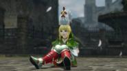 Hyrule Warriors Boots Pegasus Boots - Linkle & Cucco (Victory Cutscene)