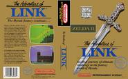 Zelda II - The Adventure of Link (box)