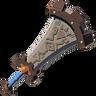 Breath of the Wild Goron Champion's Sword Boulder Breaker (Icon)