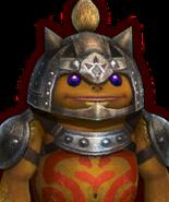 Hyrule Warriors Captains Goron Captain (Dialog Box Portrait)