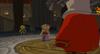 Princesse Zelda, Daphnès et Link