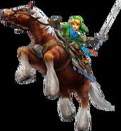 Link y Epona artwork HW