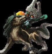 Twilight Princess HD Artwork Wolf Link & Midna (Offical Artwork)