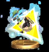 Toon Link Trofeo Smash SSBB