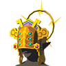 Breath of the Wild Gerudo Chief's Heirloom Thunder Helm (Icon)