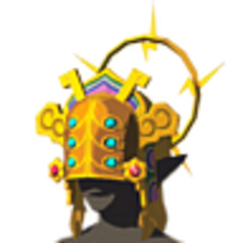 Breath of the Wild Gerudo Chief's Heirloom Thunder Helm (Icon).png