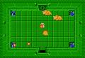 Link frente a tres Dodongos en el Nivel 8 (Segunda Búsqueda) TLoZ