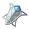 Breath of the Wild Zora Shield Silver Shield (Icon).png
