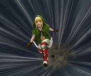 Hyrule Warriors Boots Pegasus Boots Dash (Victory Cutscene)