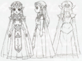 Oracle series Artwork Princess Zelda (Concept Art)