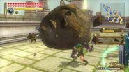 Hyrule Warriors Classic Link Power Gauntlets Boulder Smashing Punch (Boulder Regular Attack) WVW69iaqg-cpVEmcyP