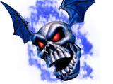 Blaue Knochenfratze