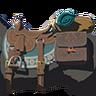 Breath of the Wild amiibo Rune Items (Traveler's Series Horse Gear) Traveler's Saddle (Icon)