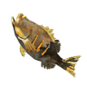Breath of the Wild Roasted Fish (Bass) Roasted Bass (Icon)