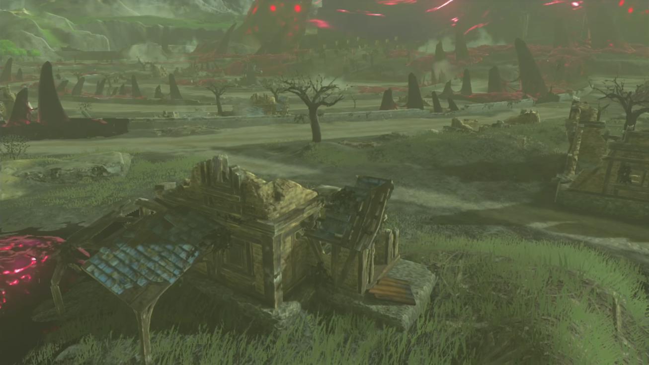 Hyrule Castle Town Ruins Zeldapedia Fandom