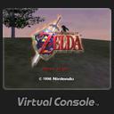 Icono The Legend of Zelda Ocarina of Time Consola Virtual Wii U