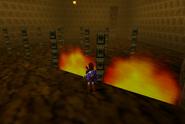 Link en Templo del Fuego OoT