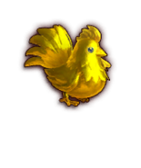 Hyrule Warriors Cuccos Gold Cucco (Dialog Box Portrait)