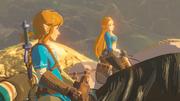 Link & Zelda Chevaux BOTW.png
