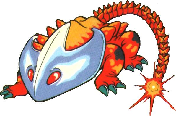 Roi Cuirasse (Helmasaur)