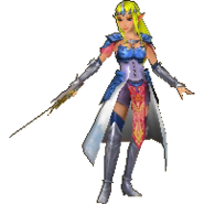 Hyrule Warriors Legends Princess Zelda Standard Robes (Wind Waker - Tetra Recolor)