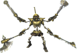 Promotional Render of a Stalmaster from Hyrule Warriors