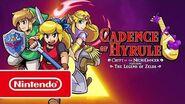 Cadence of Hyrule - Tráiler general (Nintendo Switch)