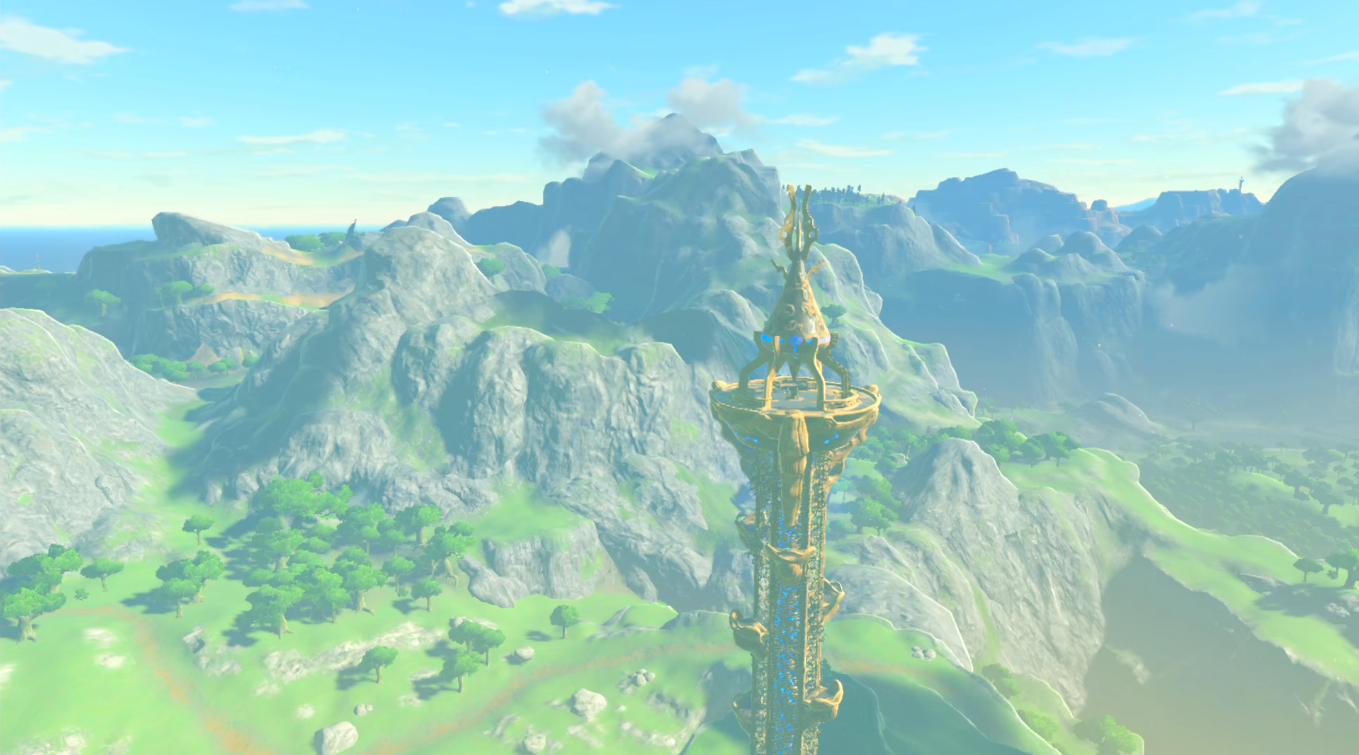 Torre De Necluda The Legend Of Zelda Wiki Fandom