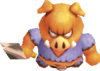 Tri Force Heroes Moblin Spear Moblin (Render)
