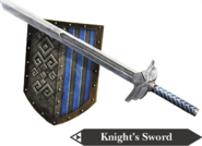Hyrule Warriors Hylian Sword Knight's Sword (Render)