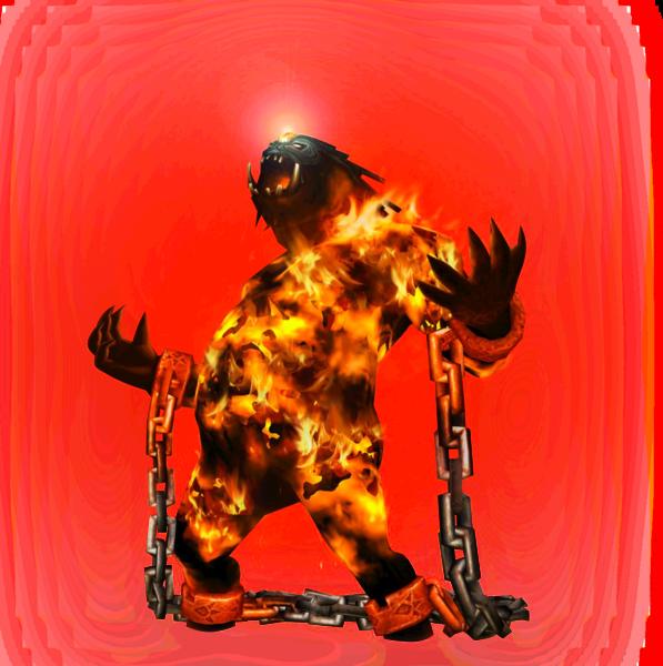 Magmaudit, Créature Pyrogène du Crépuscule